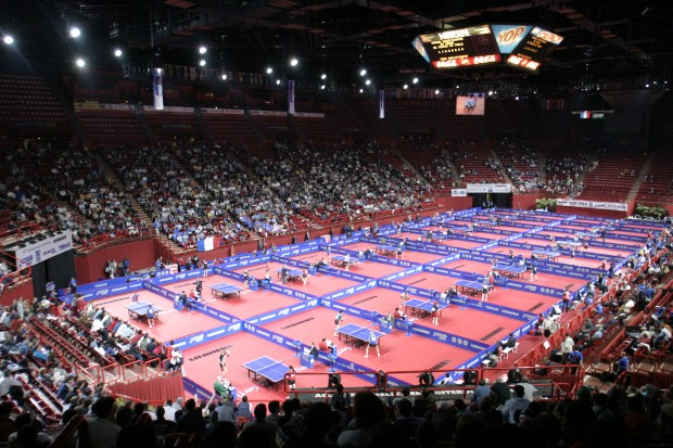 A bercy le ping veut faire bang francs jeux - Champion du monde de tennis de table ...