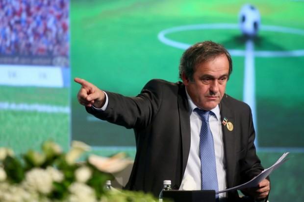 Platini Sepp Blatter Jérome Valcke Présidence de la FIFA