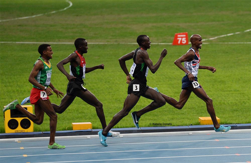 Mo Farah sacré sur 5000 m. Le britannique reste sur le toit du monde