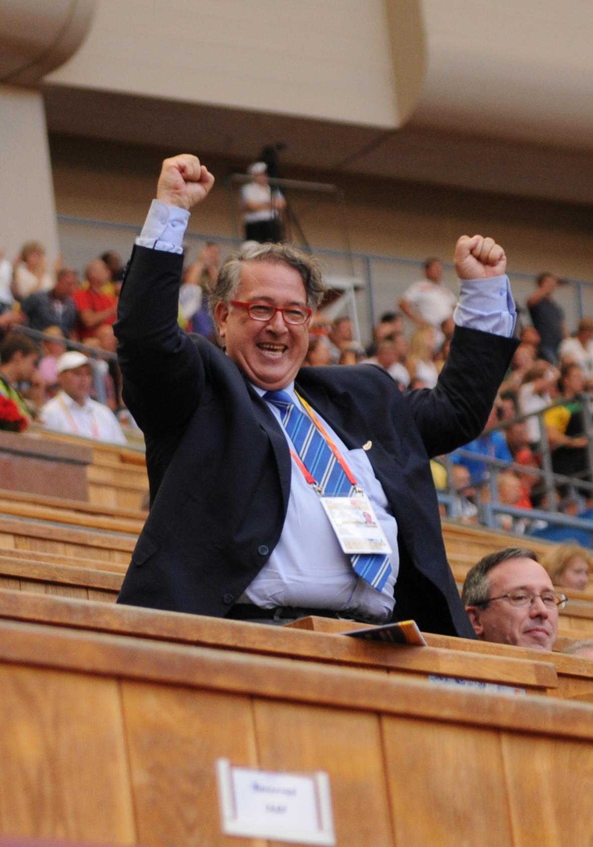 Bernard Amsalem président de la FFA