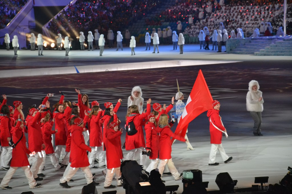 La délégation suisse