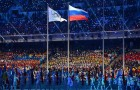 Russian-flag-waved-beside-Olympic-flag