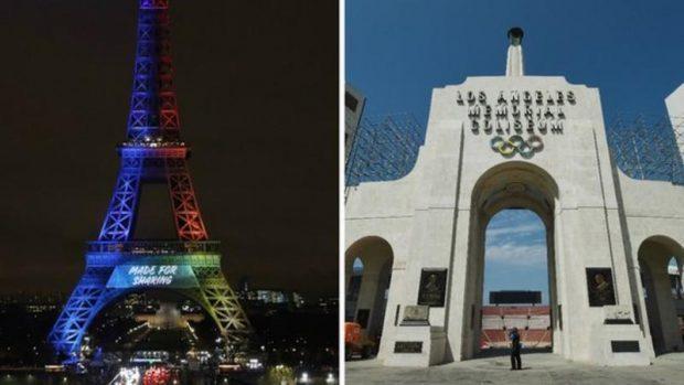 Paris en 2024 et Los Angeles en 2028 — Olympisme