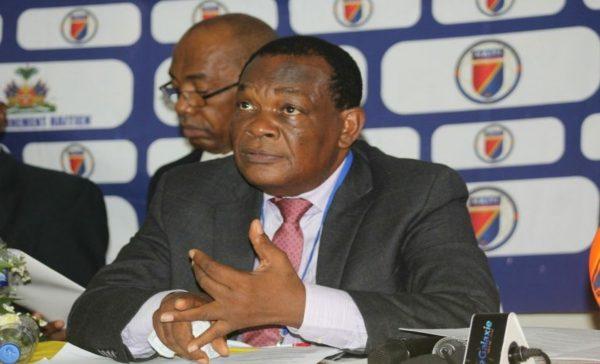 Le président de la Fédération haïtienne provisoirement banni