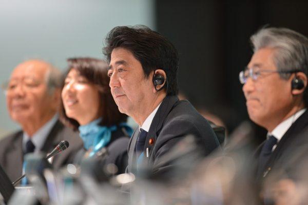 Shinzo Abe Tokyo 2020