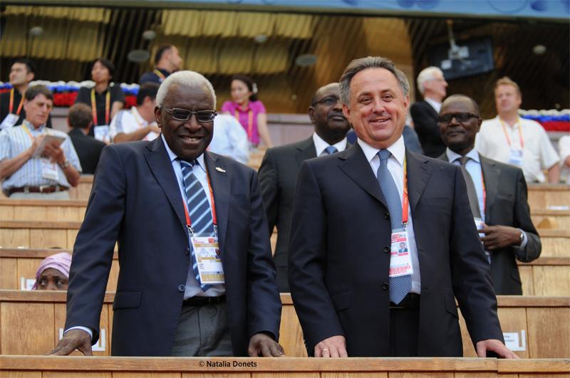 Lamine Diack president de L'IAAF