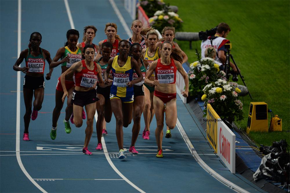 La Suédoise d'origine éthiopienne Abeba Aregawi remporte le 1500 mètres