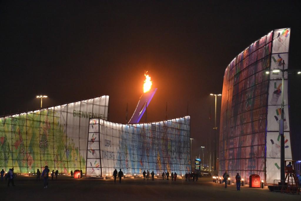 Au coeur du parc olympique