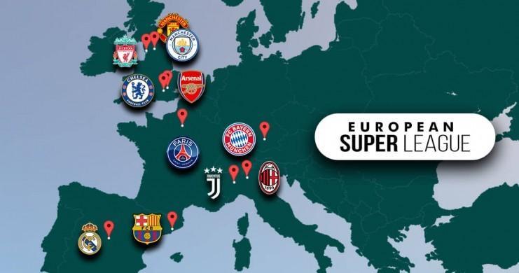 Francs Jeux Avec la Super Ligue, le foot européen se coupe en deux