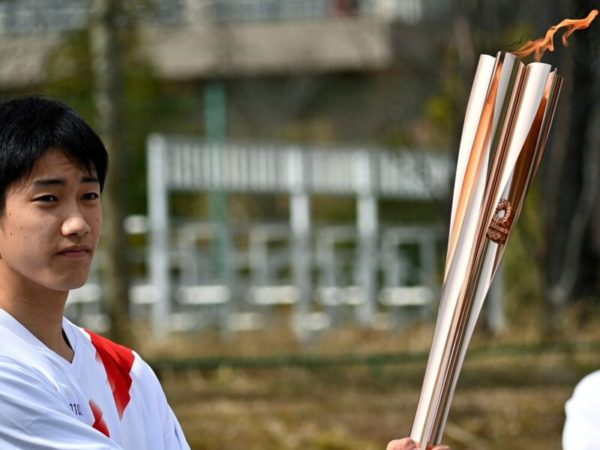 Tokyo torch relay