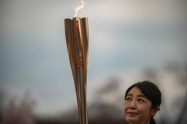 Flamme olympique Tokyo