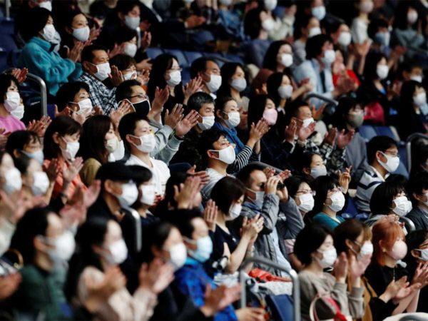 Tokyo spectators