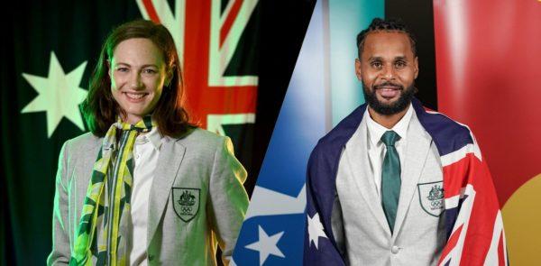 Porte drapeaux Australie
