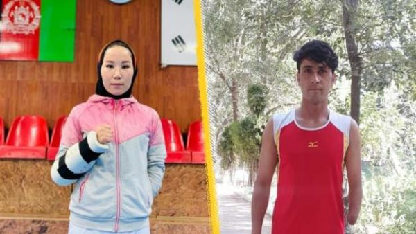 Zakia Khudadadi and Hossain Rasouli