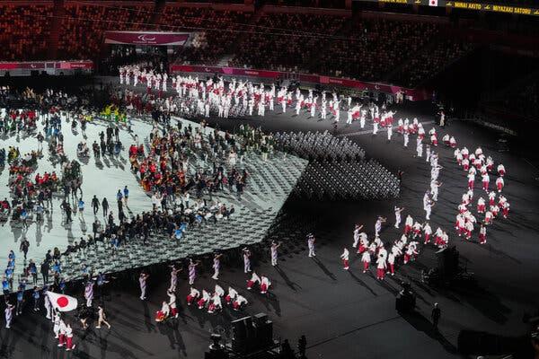 Ceremonie ouverture Tokyo Paralympiques