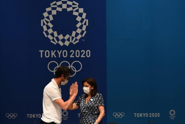 Anne Hidalgo et Tony Estanguet - Tokyo 2020