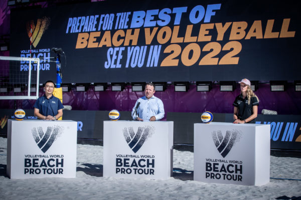 A brand new seaside volleyball circuit